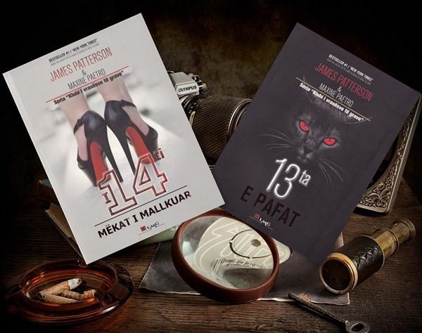Librat më të mirë me dedektivë nga James Patterson & Maxine Paetro