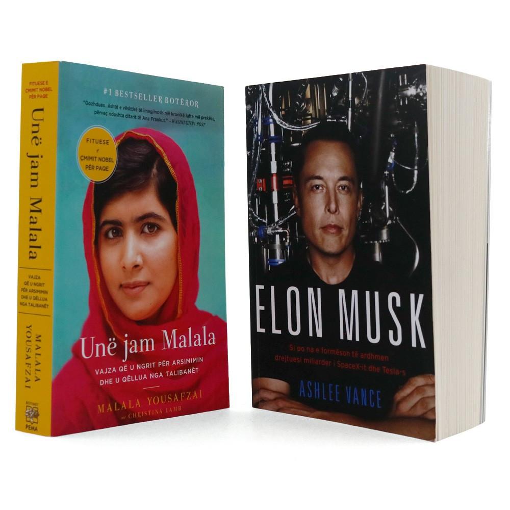 Biografitë e vitit 2017, set 2 libra