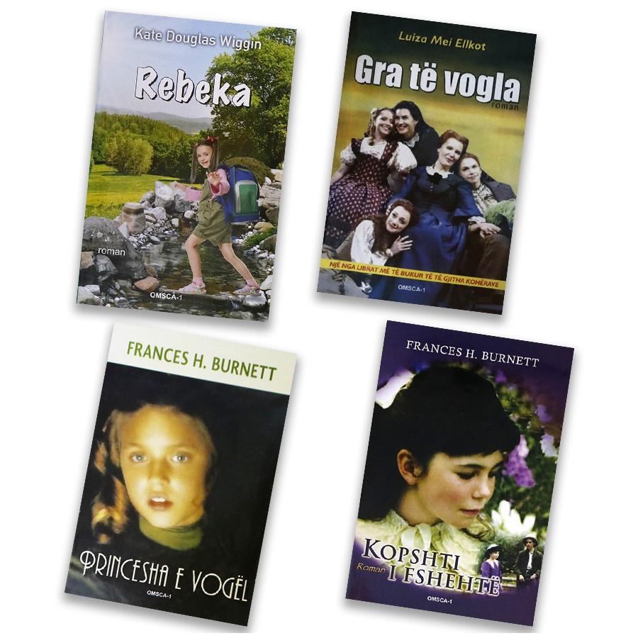 Misteret e princeshave të bukura, set me 4 libra
