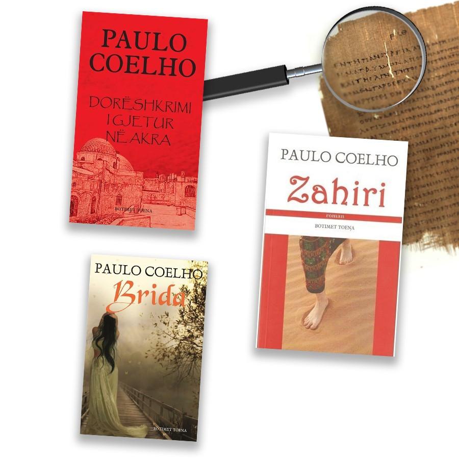 Merr në çantën e plazhit edhe 3 librat e Paulo Coelhos