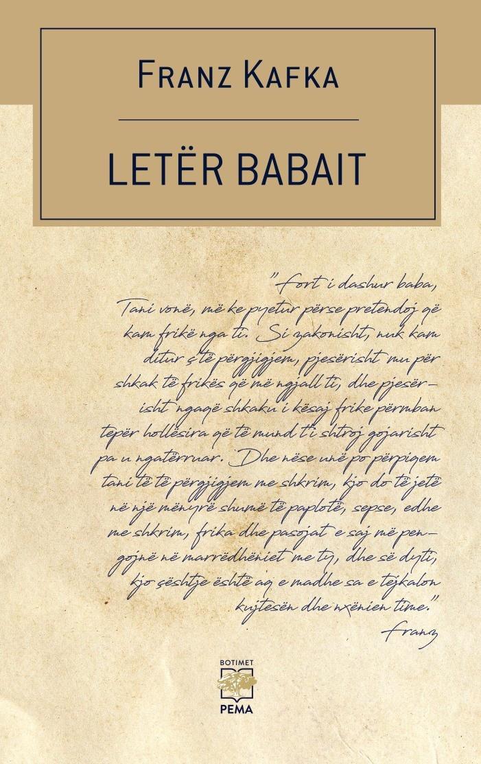 Letër babait