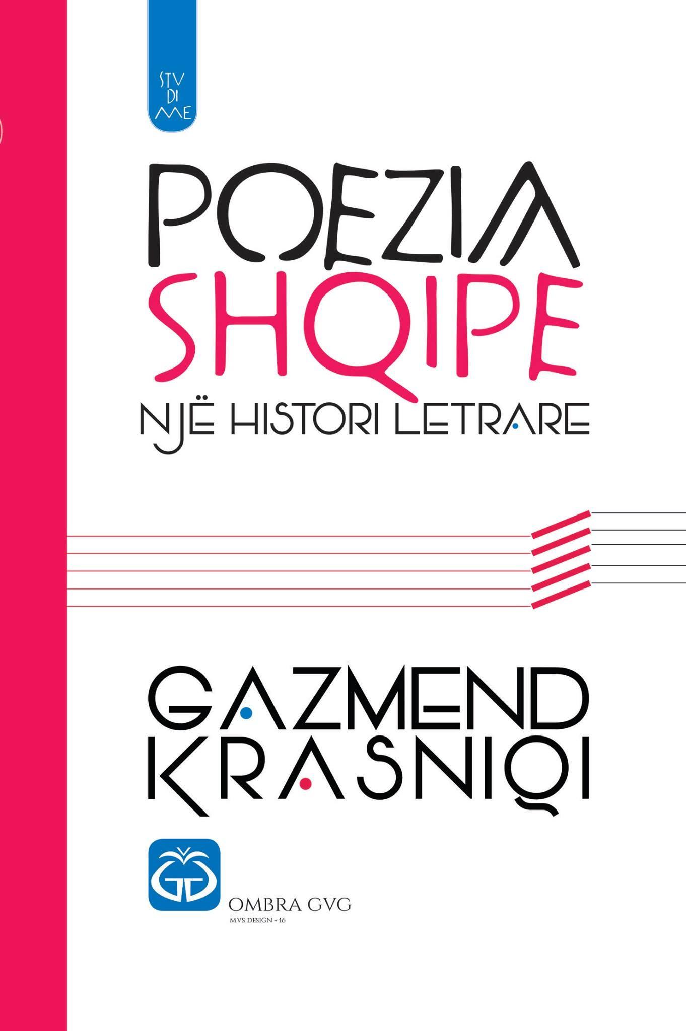 Poezia shqipe, nje histori letrare