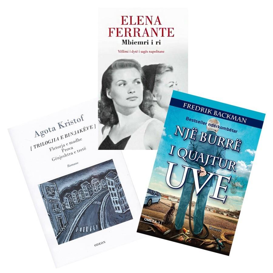 Bestsellerat e stinës, set 3 libra