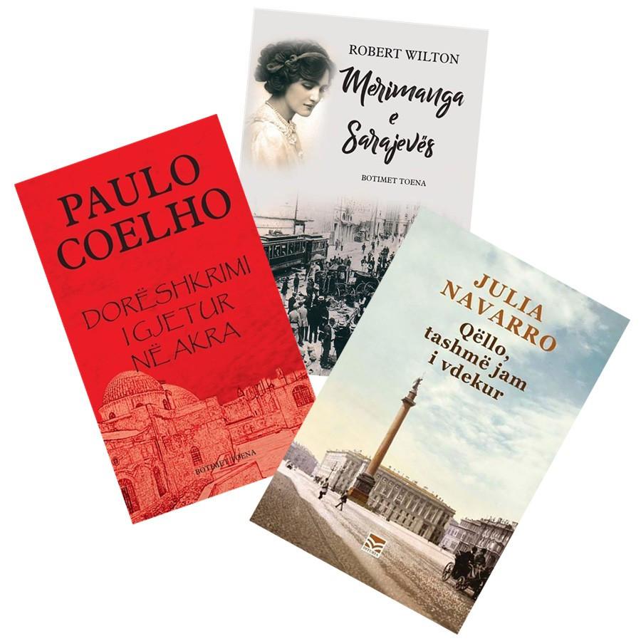 Provo shijen e romanit historik, - set 3 libra