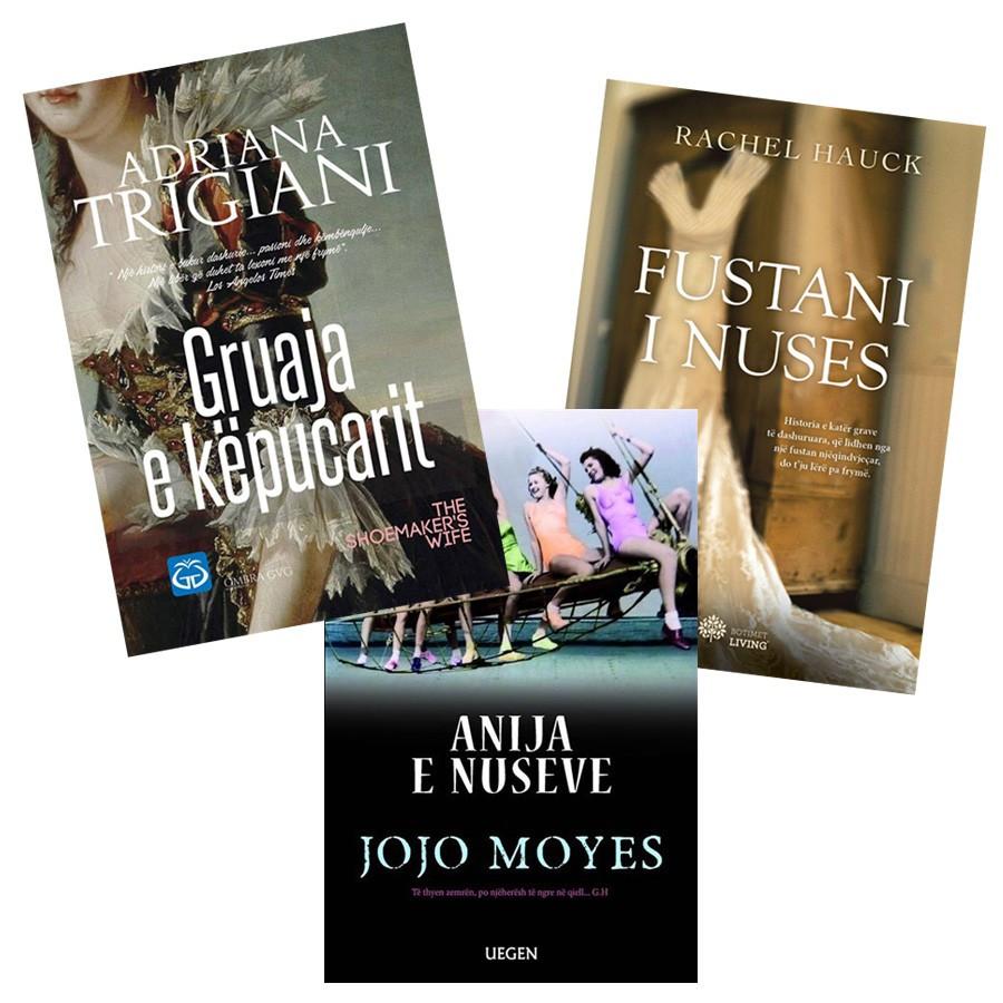 Histori nusesh në stinën e tyre, - set 3 libra