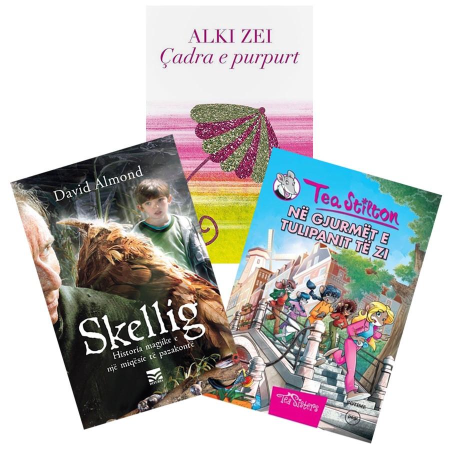 Aventura të dyfishta për fëmijën tuaj, set 3 libra