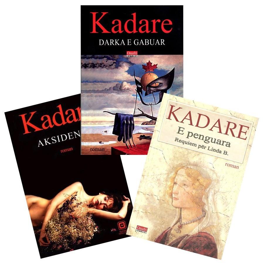 Romanet e fundit për të pasionuarit pas Kadaresë, - set 3 libra