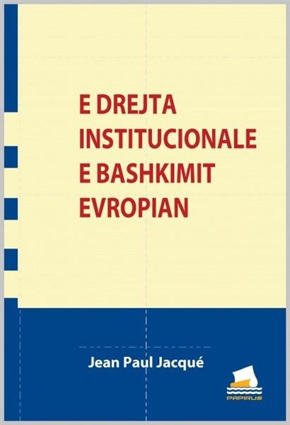 E drejta institucionale e Bashkimit Evropian