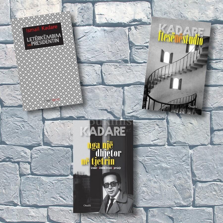 Kadare, - dëshmi që mbeten – set 3 libra