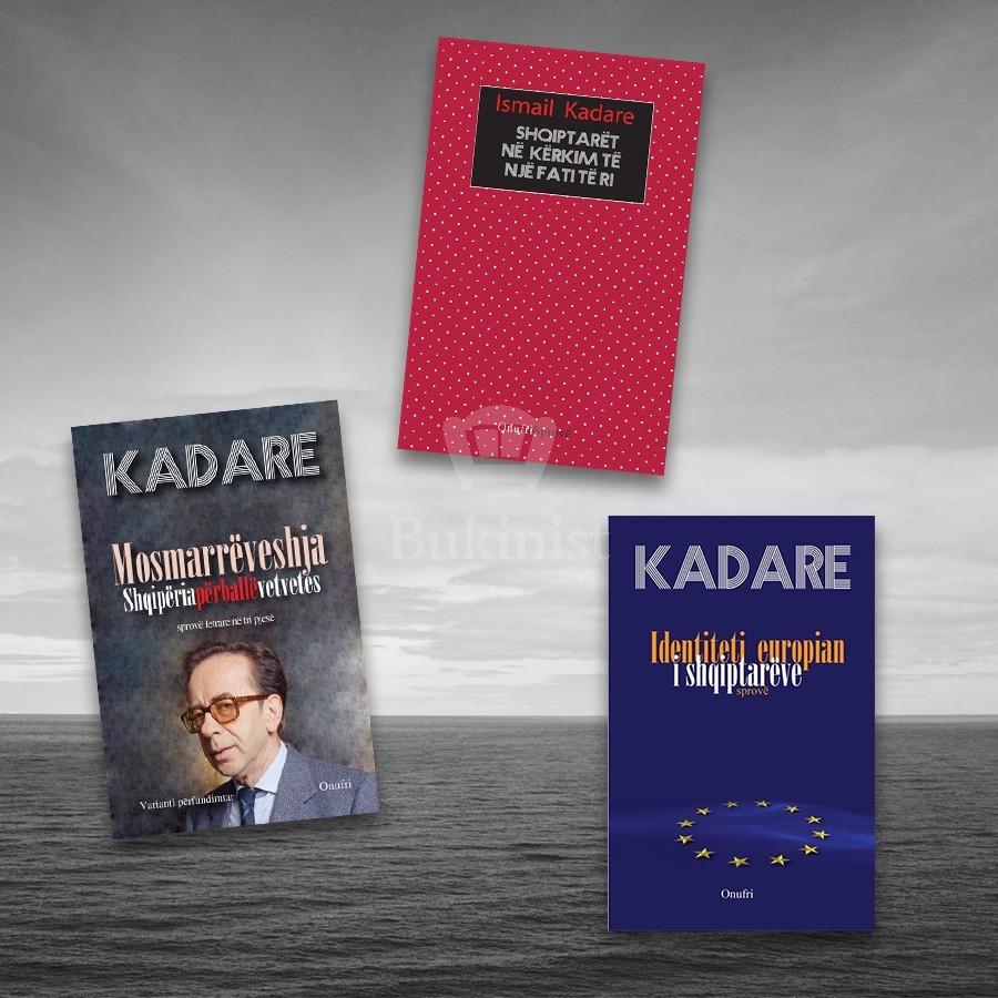 Fati i shqiptarëve sipas Sipas Ismail Kadaresë – set 3 libra