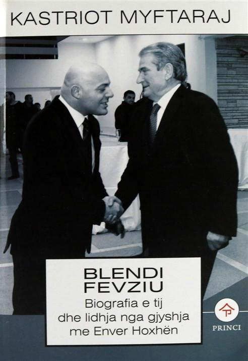 Blendi Fevziu, Biografia e tij dhe lidhja nga gjyshja me Enver Hoxhen