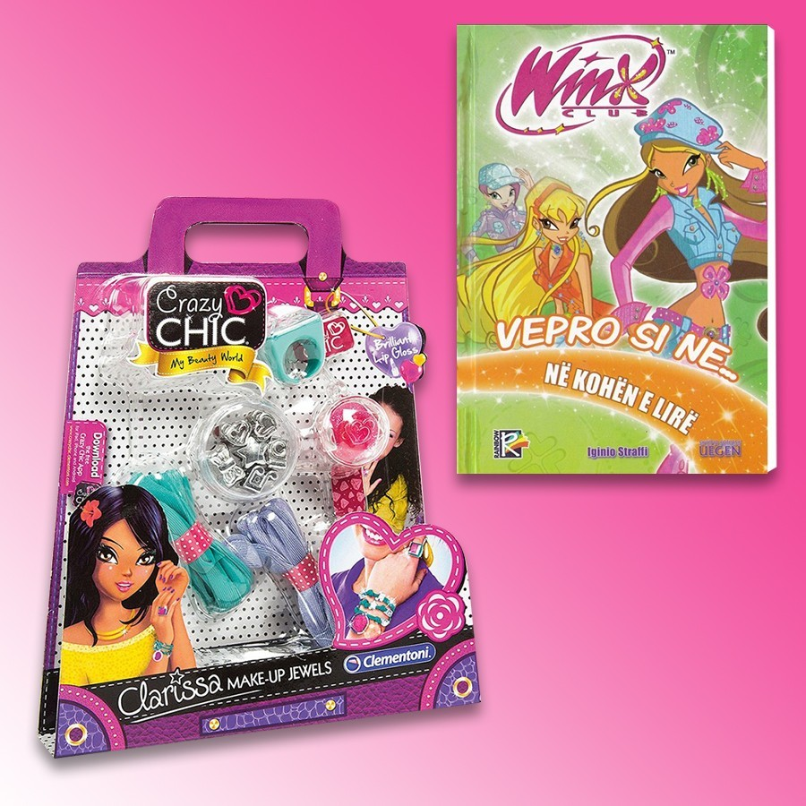 Loder Crazy Chic Make-Up Jewels Clarissa Clementoni + Winx- Vepro Si Ne Kohen E Lire