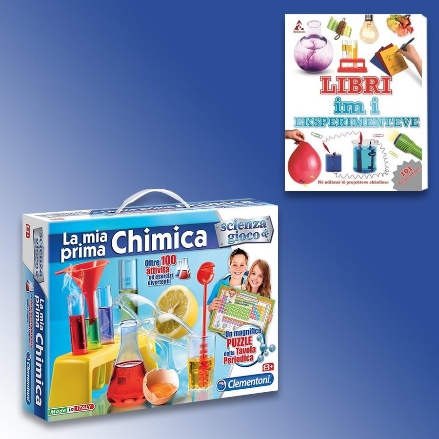 Loder La Mia Prima Chimica Clementoni + Libri Im I Eksperimenteve