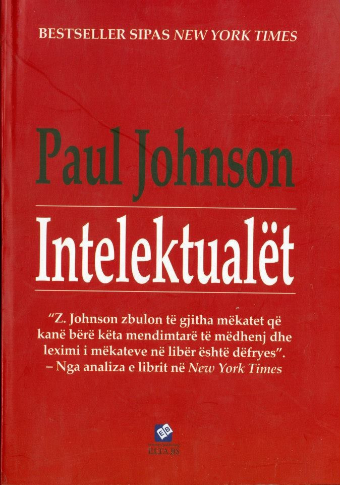 Intelektualet, - Paul Johnson