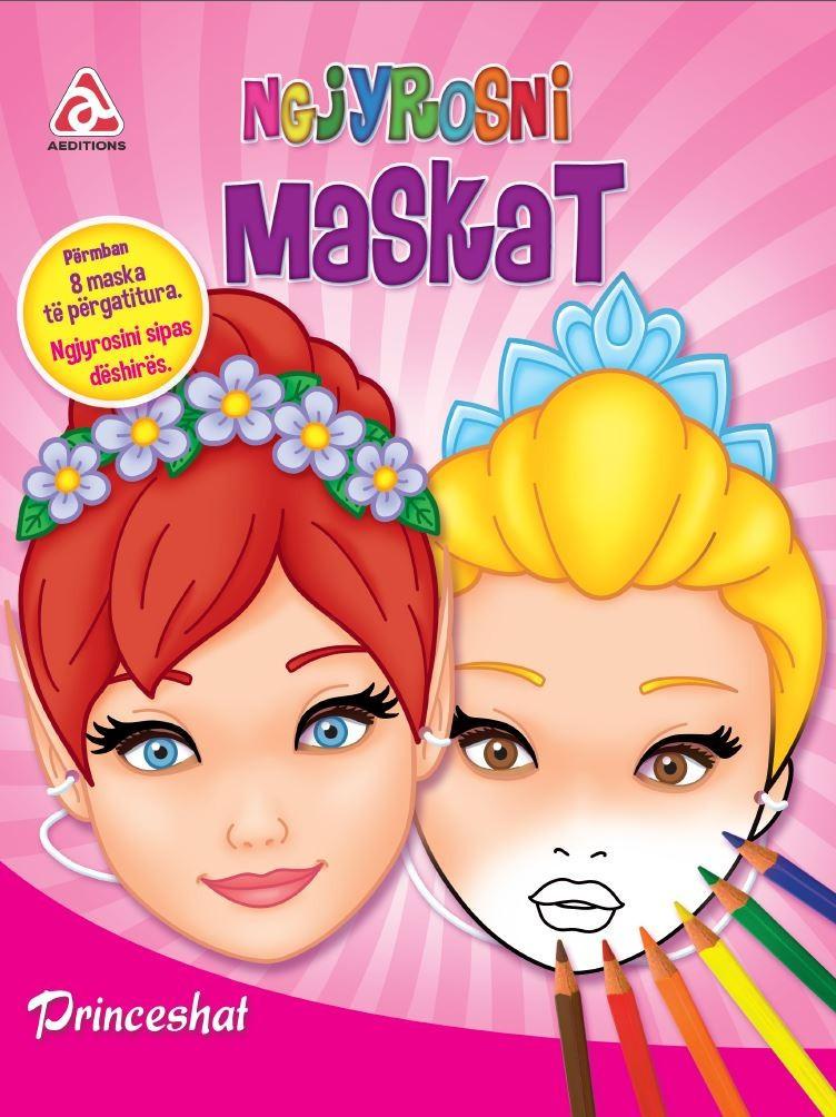 Ngjyrosni maskat - Princeshat