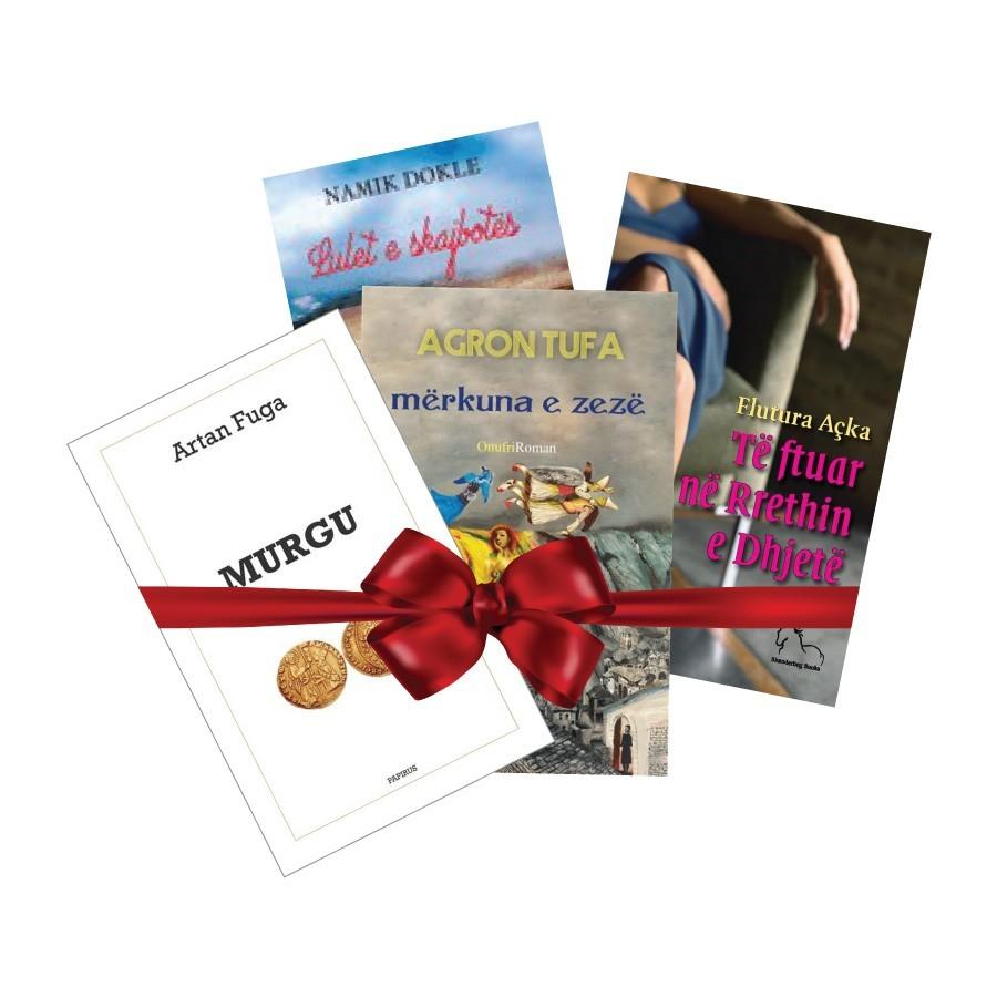 Pako librash dhuratë – autorë shqiptarë 2017