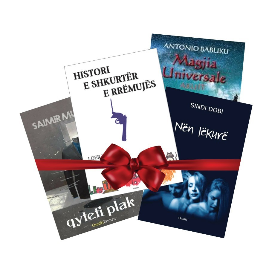 Pako librash dhuratë – autorë të rinj shqiptarë 2017