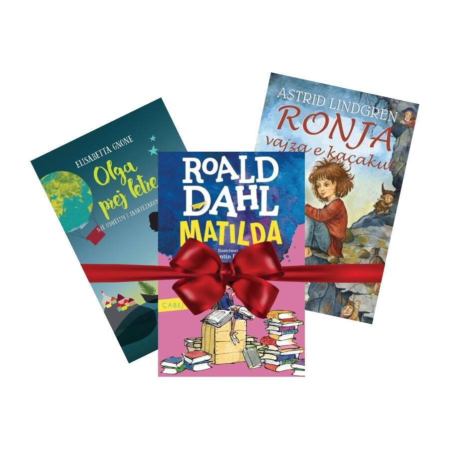Pako librash dhuratë për fëmijë I – botimet e 2017-ës