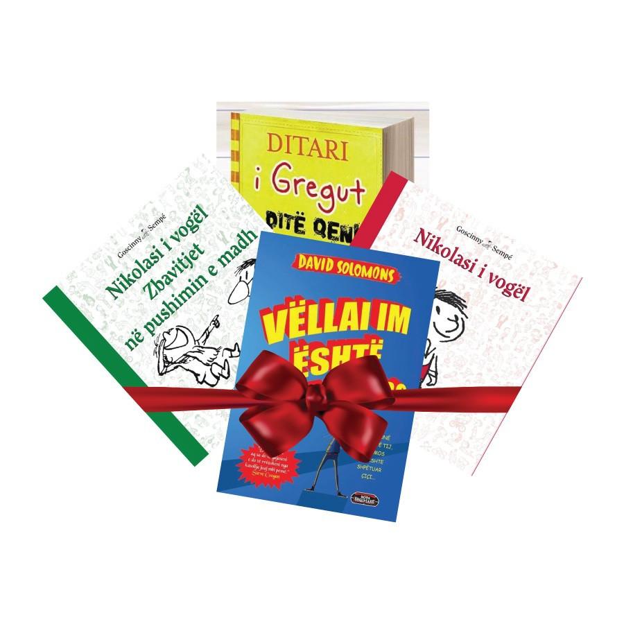 Pako librash dhuratë për fëmijë II – botimet e 2017-ës