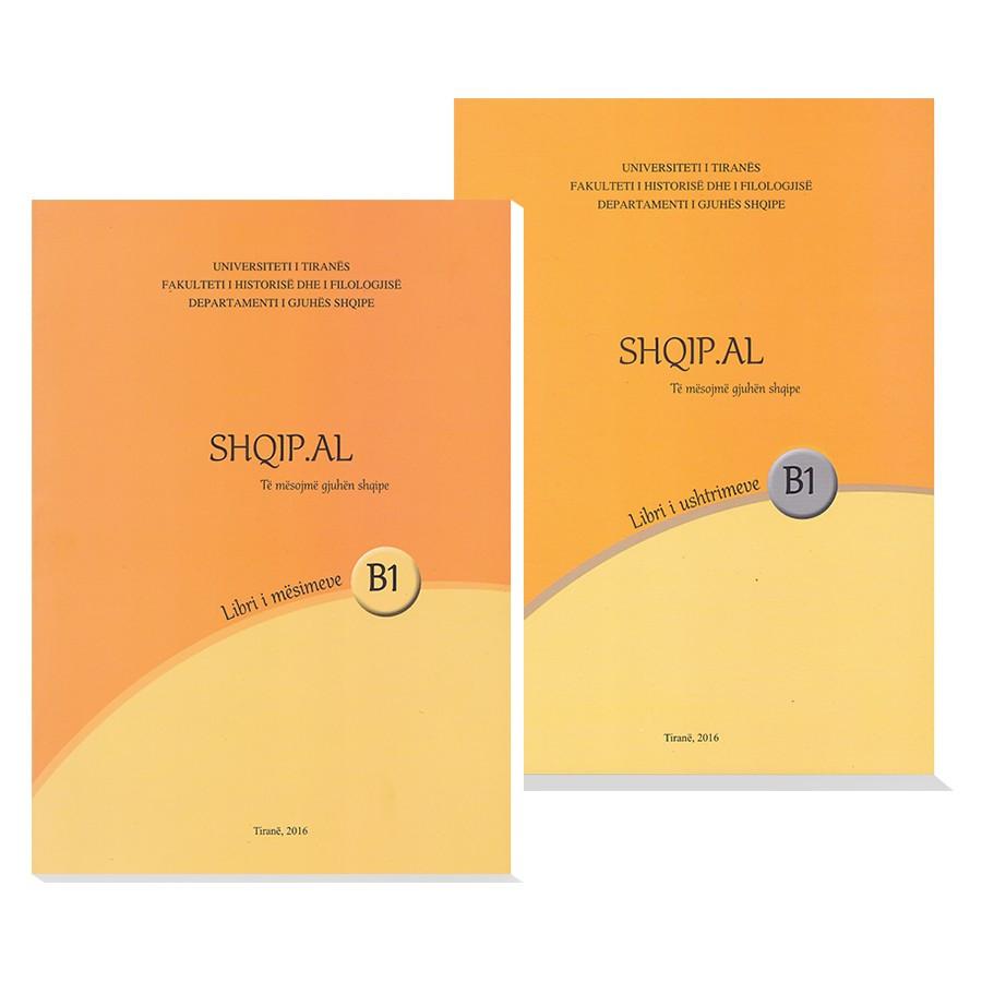 """Metoda """"Te mesojme gjuhen shqipe """"Shqip.al"""" - Niveli B1"""
