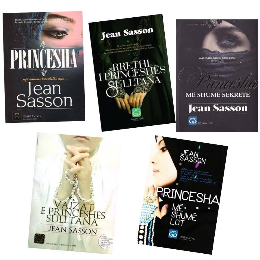 Seti me 5 libra, jetoje botën dhe misteret e Princeshës