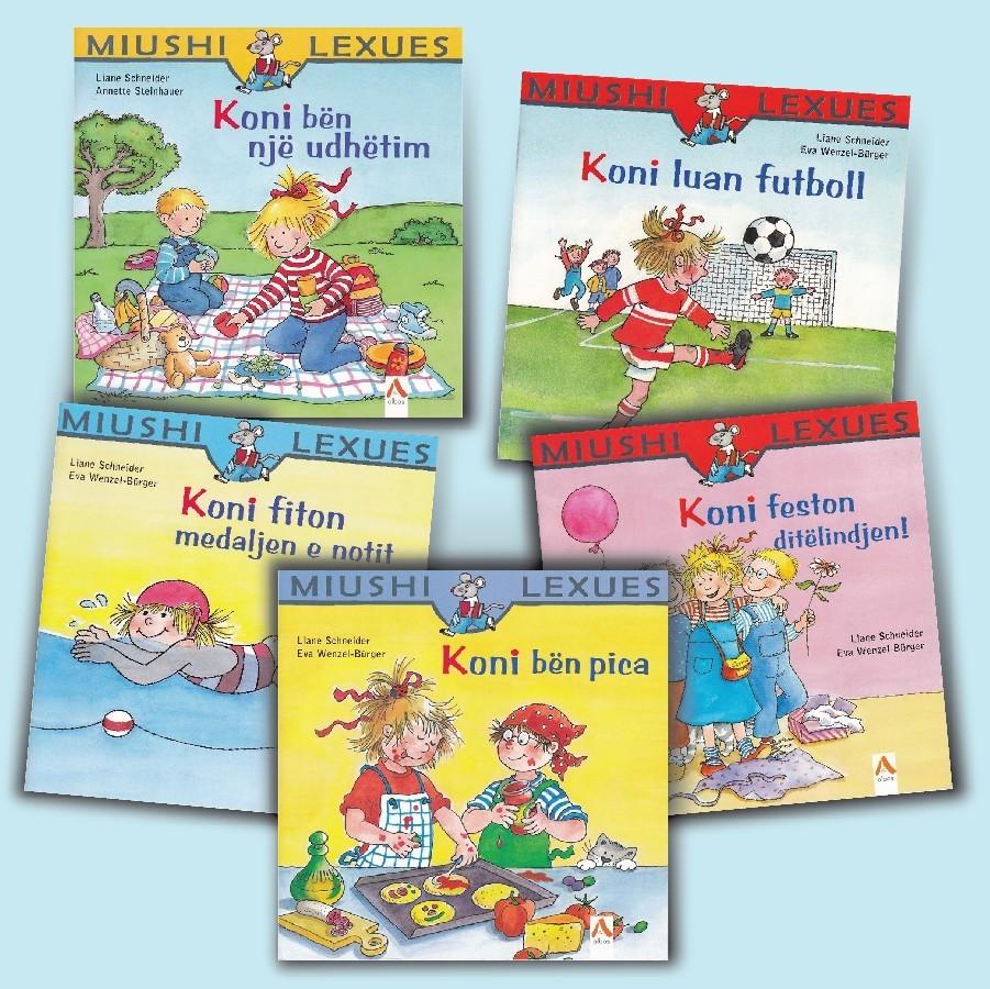 "Seria ""Miushi lexues – Koni"""