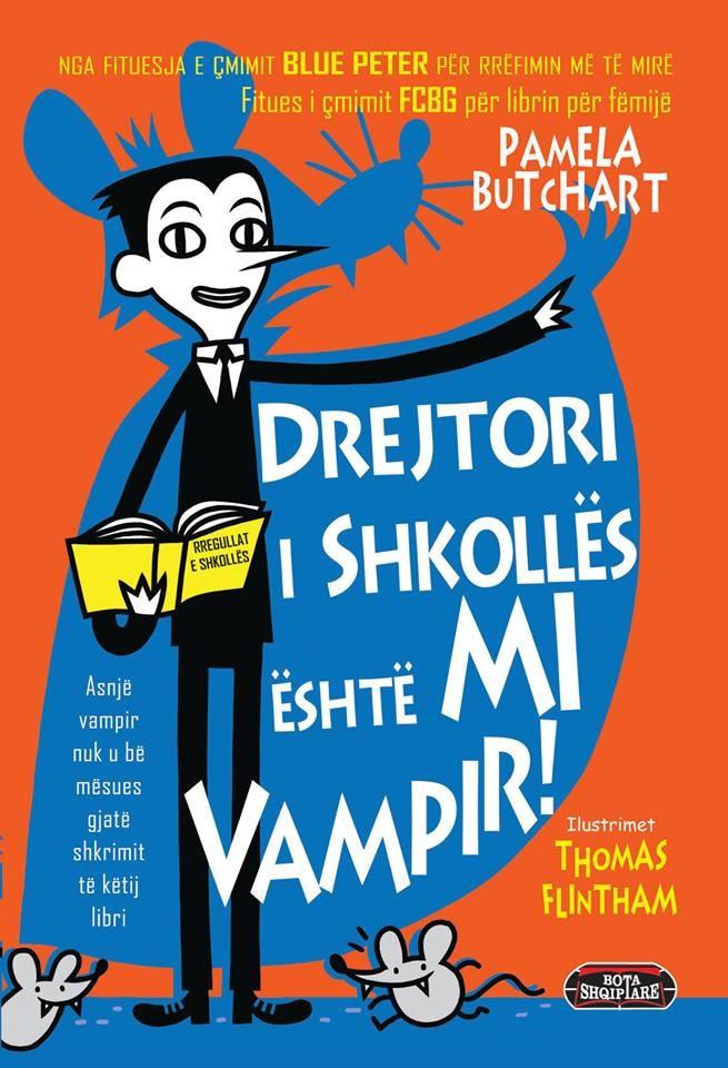 Drejtori i shkollës është mi vampir!