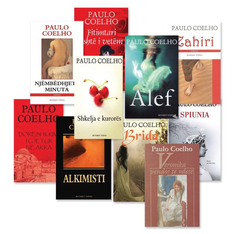 Koleksioni në shqip i Paulo Coelhos
