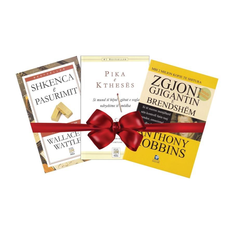 Pako librash dhuratë për zhvillimin personal II