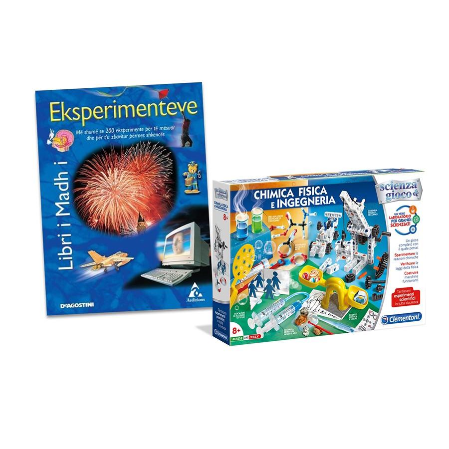 Set Kimia Fizike & Inxhinieria + Libri i Eksperimenteve