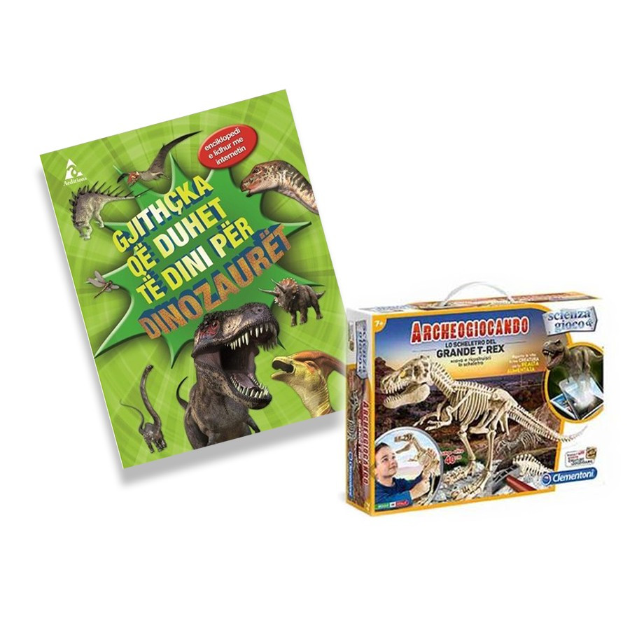 Set Arkeologji, T-Rex + Gjithcka per Dinozauret
