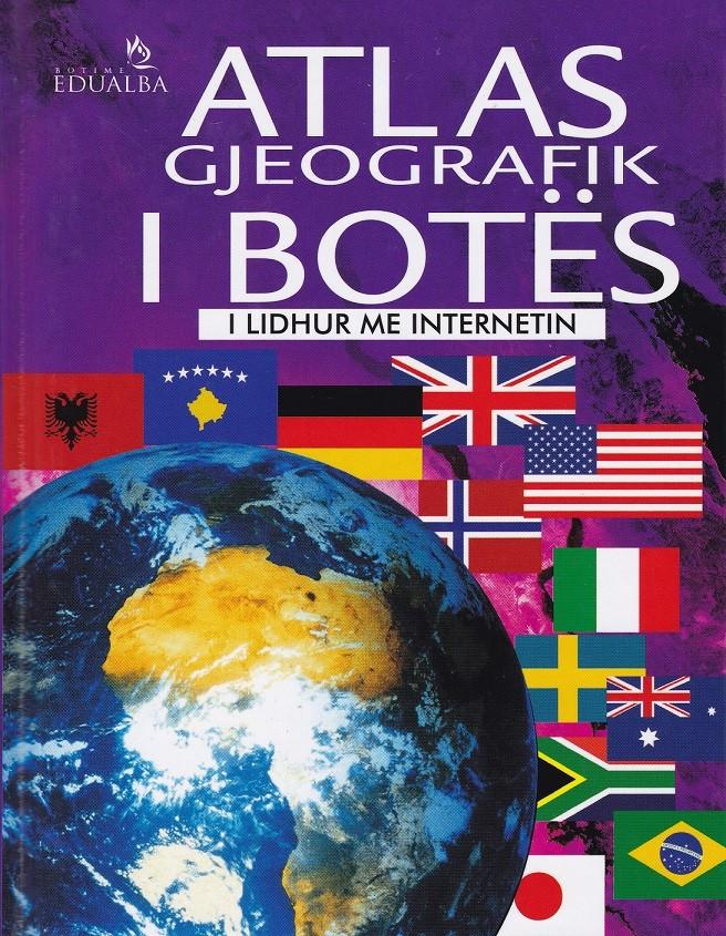 Atlasi gjeografik i botës, i lidhur me internetin