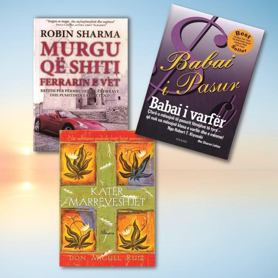 Librat me te mire per zhvillimin personal 2 – set me 3 libra