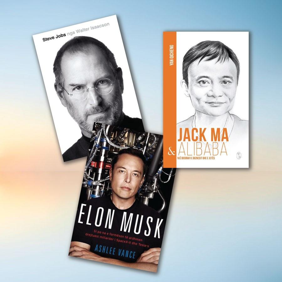 Biografi biznesmenesh te suksesshem – set me 3 libra