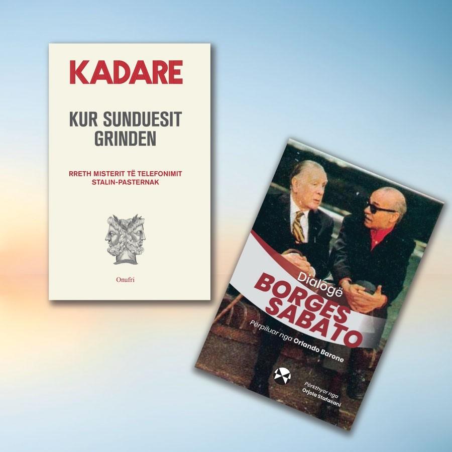 Sabato – Borges - Kadare – set me 2 libra