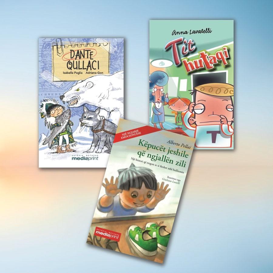 Tre libra kundër dhunës në shkollë – set me 3 libra