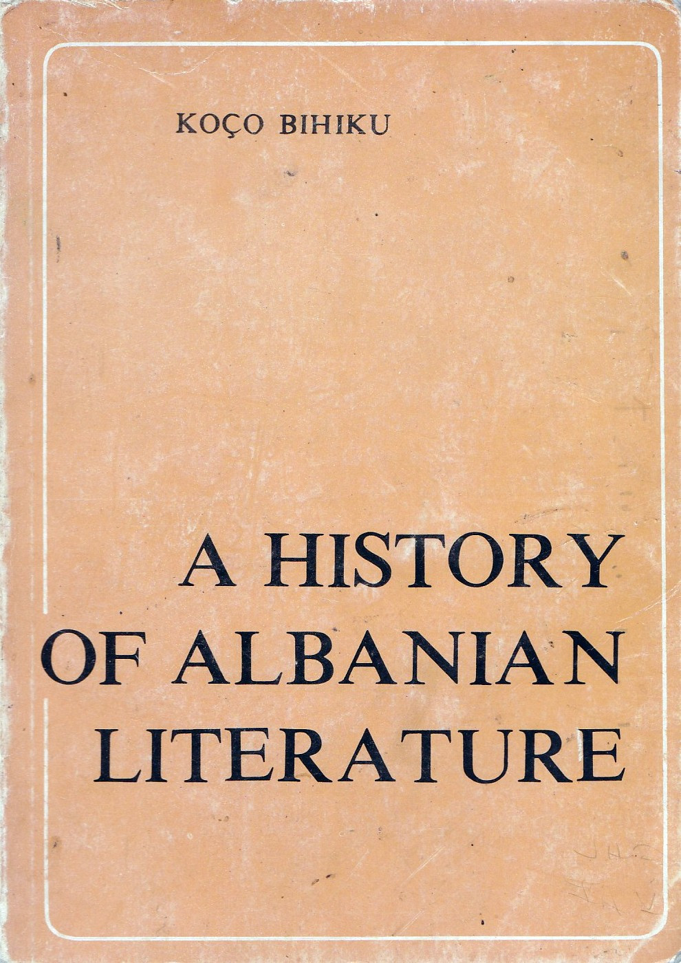 A history of albanian literature