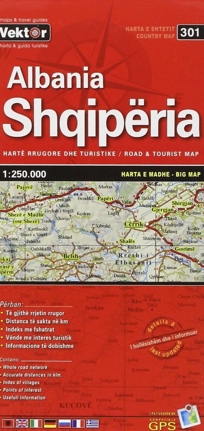 Shqipëria -BIG MAP-