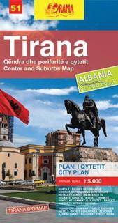 Tirana - Big Map