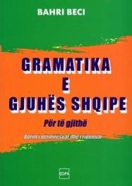 Gramatika e gjuhës shqipe për të gjithë