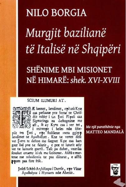 Murgjit baziliane te Italise ne Shqiperi: Shenime per Himaren: shekujt XVI-XVIII