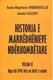 Historia e marredhenieve nderkombetare, vell. 2