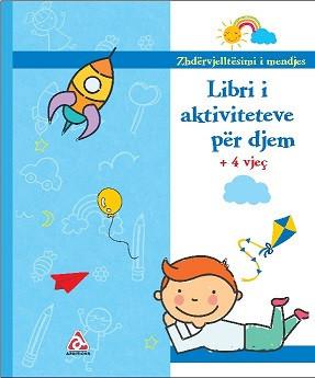 Libri aktiviteteve për djem - rb