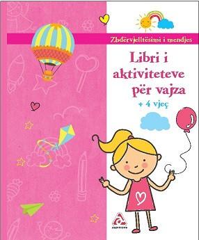 Libri Aktiviteteve per vajza - rb