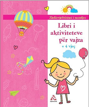 Libri Aktiviteteve për vajza - rb