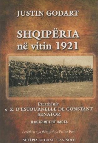 Shqipëria në vitin 1921