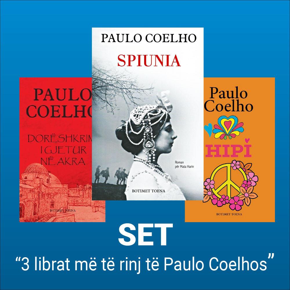 Coelho me 3 romanet e fundit ne shqip