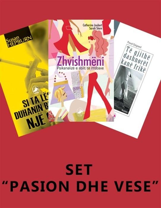 SET – tre libra bashke per pasionin dhe vesin