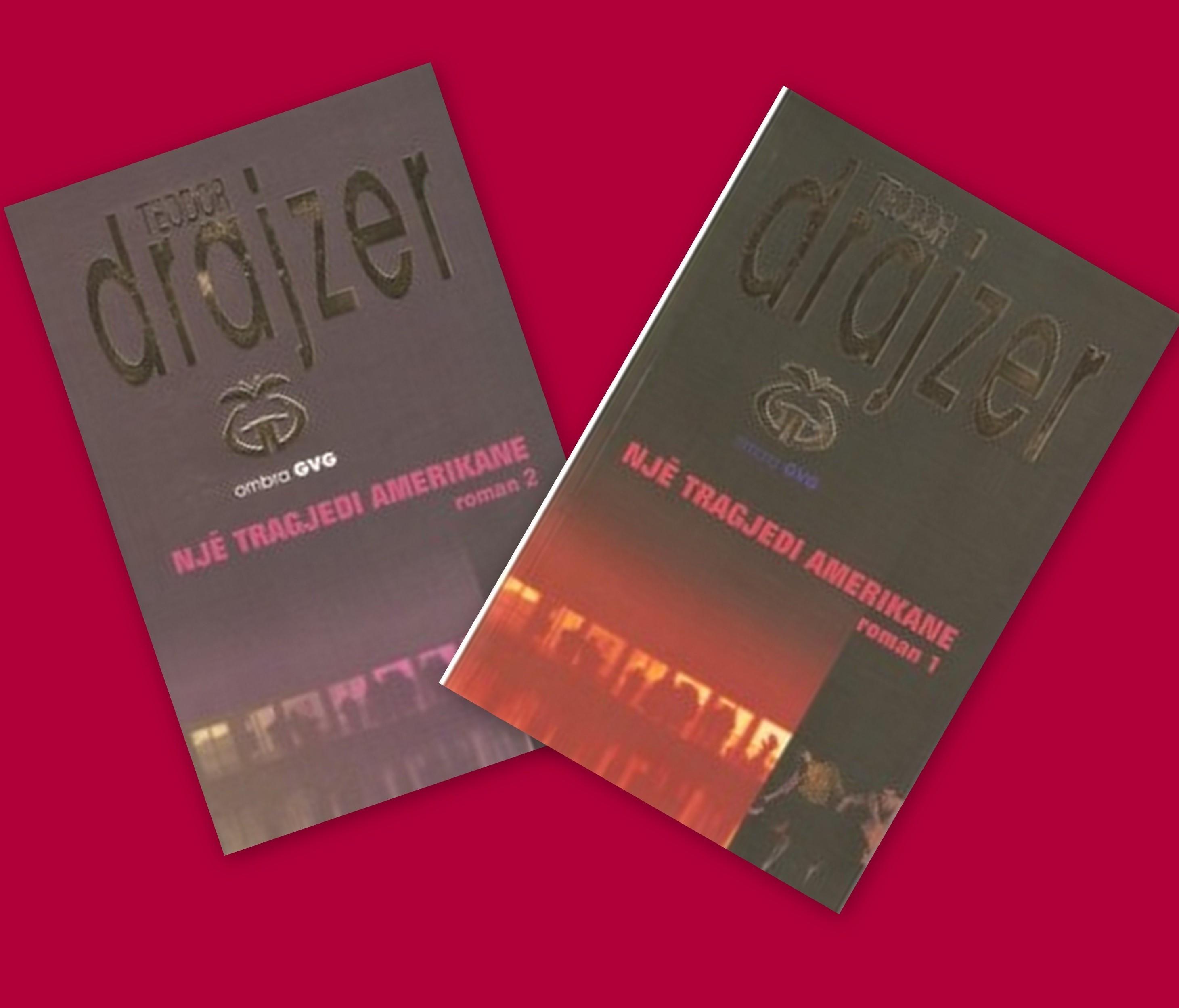 Një tragjedi amerikane – i plotë, set 2 libra