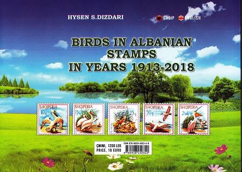 Birds in albanian stamps 1913-2018